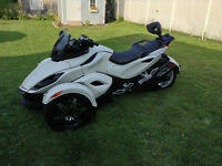 Can Am Spyder RSS Limited Edition For Sale VERY LOW KILOMETRAGE