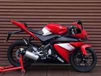 Yamaha YZF R125 Only 8291miles. Delivery Available *Credit & Debit Cards Accepted*