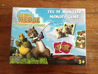 Over The Hedge Memory Game