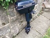 EVINRUDE 4hp outboard ,,,,,,