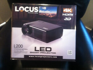 Locus L200 4K Projector and Screen