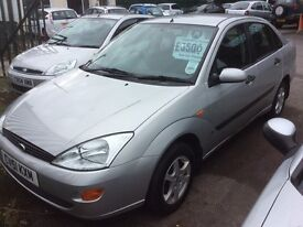 2001 Ford Focus 1.8 LX-November 16 mot-drives-ideal runaround