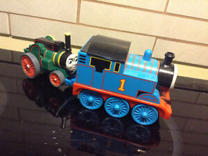 Thomas Train w/ Tag-along Trevor The Tractor Pull String & go