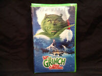 DR.SUESS HOW THE GRINCH STOLE CHRISTMAS ( SEALED ) VHS