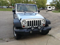 2009 Jeep Wrangler X $15,500 OBO