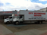 Empty Moving Van coming from Kamloops Sept. 30th & Coast Oct.6
