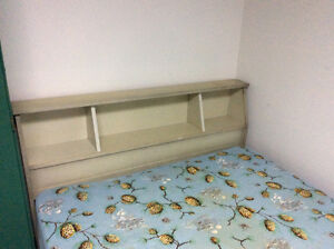 Double bed frame - headboard and footboard