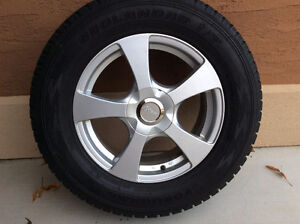 245/65R 17 YOKOHAMA GEOLANDER WINTER TIRES