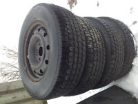 Uniroyal Tiger Paw Ice and Snow Tires 215/70R15