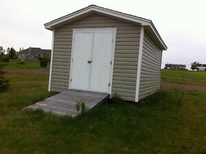 10 X 16 Baby Barn - beige in color asking 2700 $