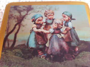 """Hummel collectable """"Ring Around the Rosie"""" tin #348"""