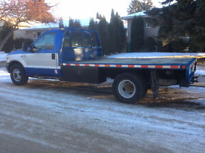 "APRIL 30-  Ford F350 Super Duty 12' Deck ""LOW kilometres"""