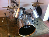 Drum Pearl Export 5pc + Pedal Double P122TW