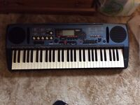 Electric organ piano size