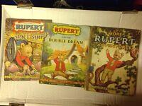Rupert the bear collectors annuals