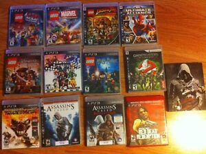 Play Station 3 and 13 games for sale