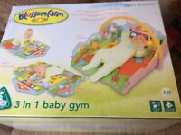 Playmat baby gym 3 in 1 ELC