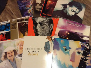 NEW & USED VINYL - SELLING VINYL COLLECTION - $5