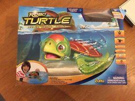Robot turtle bowl