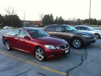 2006 Lexus GS 300 Sedan - ONLY 122KMs