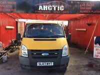 Ford Transit crew cab ARCTIC VAN SALES