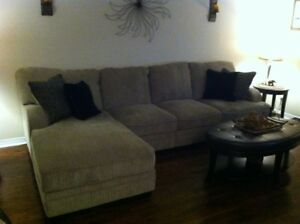 Ashley Three Piece Sectional Couch For Sale $1000.00 or BO
