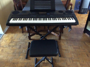 Casio WK-6500 76-Key Digital Piano.