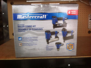 Brand New Mastercraft Nailers