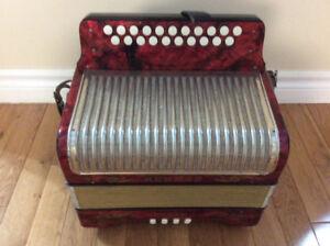 Hohner Corso button accordion. CF.