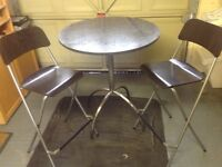 Granite Kitchen Table & Chairs