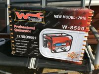 Petrol generator brand-new never been out the box