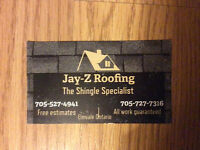 Roofing Repairs and Services 705-527-4941