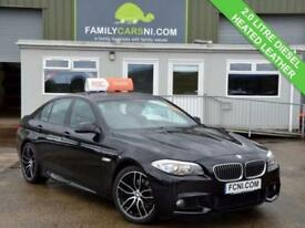 2013 13 BMW 5 SERIES 2.0 520D M SPORT 4D 181 BHP DIESEL
