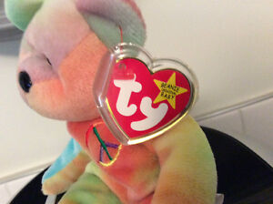 Rare Peace Beanie Baby with Tag Errors London Ontario image 2