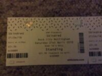 Skindred rockcity tickets x2