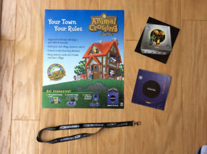 Animal Crossing \ Gamecube \ GBA SP ( NINTENDO Promo Items )