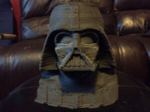 STAR WARS DARTH VADER 3D SCULPTURE BUST