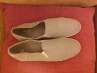 Men's Fred Perry Canvas Shoes size 12