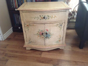 Two shabby chic cabinets (end tables or night stands)