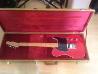 Jerry Donahue signature Fender Telecaster guitar with case