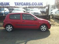 TAYCARS DUNDEE GENUINE SALE!! RENAULT CLIO, 1 YEARS MOT NOW....£795