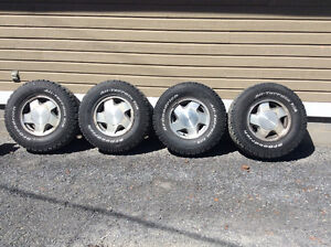 Chev 4x4 rims and bf Goodrich tires