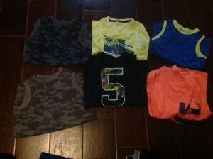 Boys size 7/8 summer tops