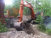 39 hp Kubota mini excavator