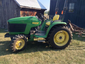John Deere 4300 compact utility tractor
