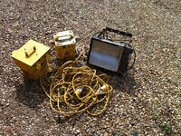 Mixed items transformer junction box light