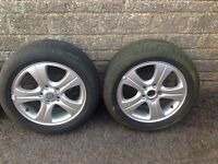 Jaguar X type alloy wheels