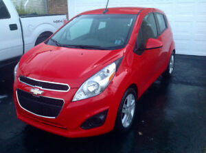 2014 Chevy SPARK 39,500km 5 Speed  new winter tires