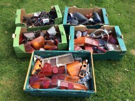6 Boxes of various car parts