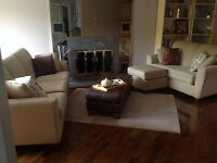 comfy 3 and 2 seater couch set